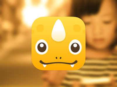 App Branding for Kids - Icon Design illustration education family tool phone kids dino ios icon app app icon