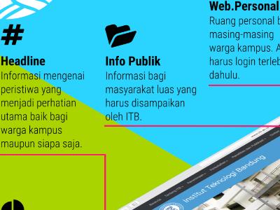 New ITB Website university higher education indonesia bandung itb