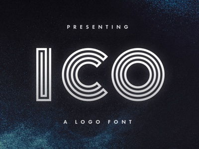 Ico Typeface maze font type design display logofont tugcu typeface poster game album cover font title logo creativemarket