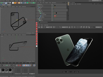 iphone11Pro 3D Model