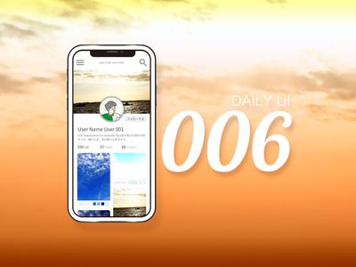 dailyUI 006