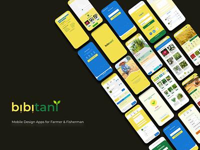 Mobile Apps Design: bibitani branding mobile app design mobile app ux ecommerce design ui figma user experience