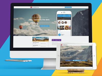 CoMotion website website design web design webdesign website portfolio ux ui branding design
