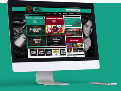 Grizzly Gambling Website Design user experience design user interface design user experience user interface interface website design web design webdesign web website branding portfolio design ux ui