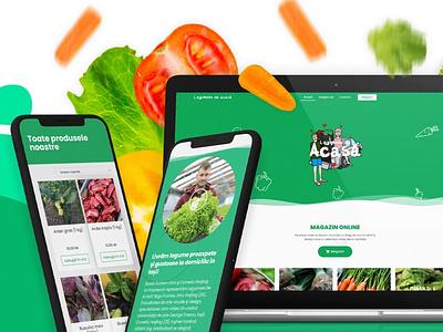 Farm to table via e-commerce product design ux ui design portfolio ecommerce shop ecommerce shopping shop webshop webdesign web design web website farm