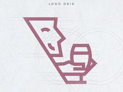desprevin.ro logo design brand brand identity icon brand design grid design grid layout grid logo illustration vector logo branding portfolio design