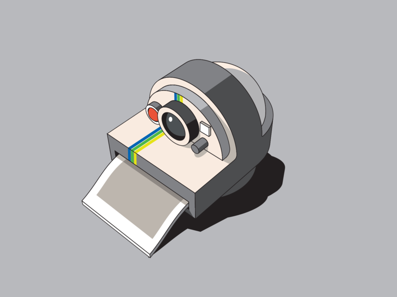 Poladroid web app vector toy design cartoon bender logo icon illustration