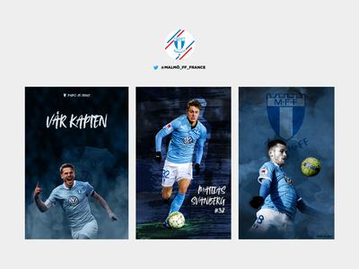 Posters of Malmö FF players