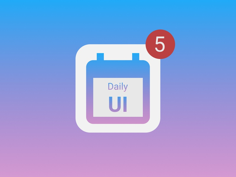 DailyUI №5 - App icon branding app ui application icon icon ui design uidesign ui figma daily ui dailyui