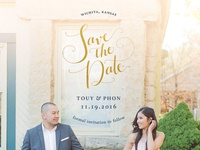 Save the Date: Touy & Phon