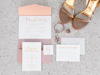 The Ounaroms Wedding Invitations