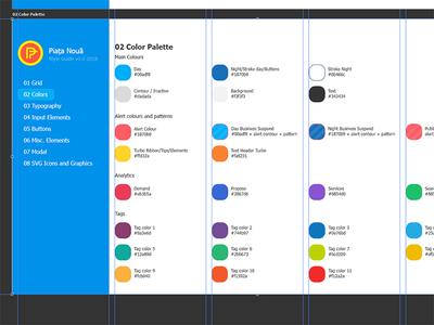 Style Guide Color Palette