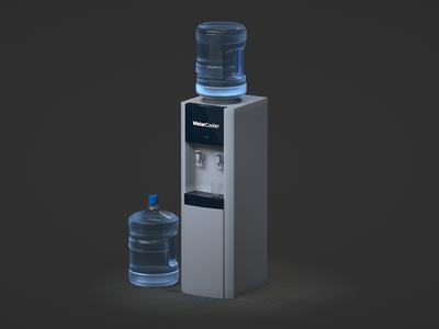 Water Cooler Free 3D model