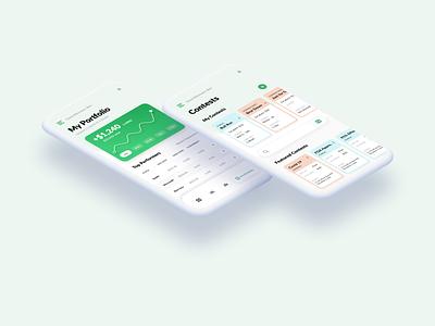Finance Portfolio dashboard chart finance