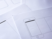 Device UI Sketch Sheets