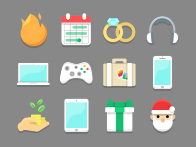 PiggyPot Collection Icons