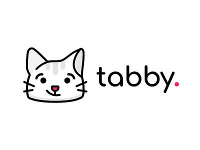 Tabby Logo logo cat tab tabs