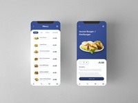 Food Menu UI