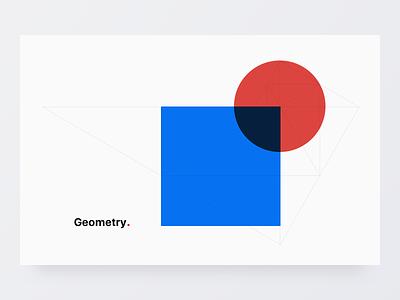 Geometry type vector web geometry colours 2d marketing typography logo illustration design branding