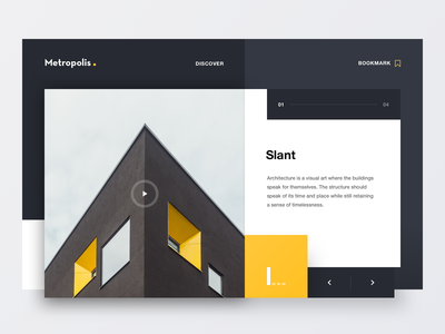 Metropolis website lettering type minimal clean geometry colours 2d marketing typography logo design branding web ixd ux ui