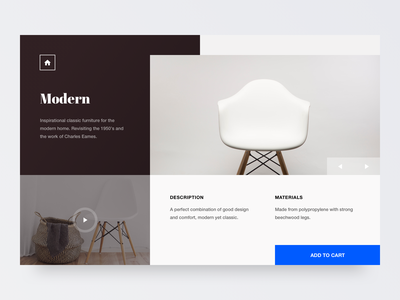 Classic Furniture website flat geometry type minimal clean colours 2d typography logo design branding web ixd ux ui