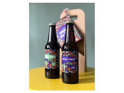 Beer branding eticket alcohol identity design idenity branding design design dutch illustartor illustration bread beer art branding beer label beer