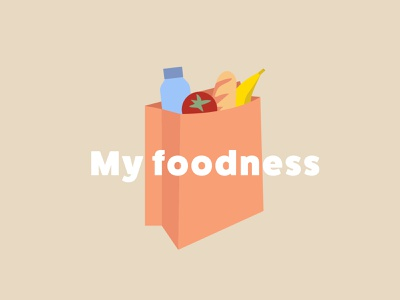 My foodness lunchbox lunch food and drink dutch clean netherlands illustration shop foodness bread banquet tomato water banana food