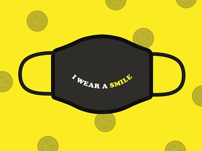 Design For Good Face Mask Challenge smile dribbble challenge face mask facemask