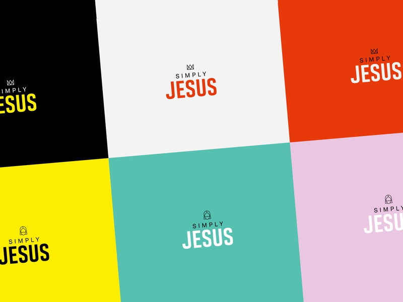 A logo sketch for a christian branding cross crown christian designer color palette colour palette color brand netherlands dutch simply jesus branding church christian