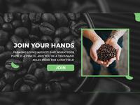 Coffee Plantation farming plant coffee presentation design presentation ui design visual design