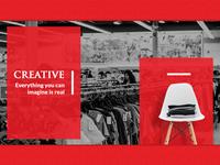 Cloth Shop Presentation shopping clothing brand clothing uiux presentation design presentation visual design ui design