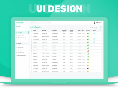 Dashboard Design userinterface uxui ux visual design ui dashboard