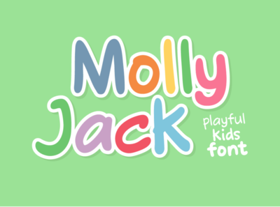 Molly Jack comic font
