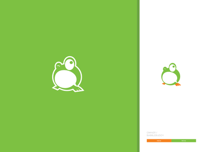 Babble Buddy logo vector flat icon design