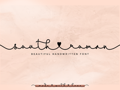 South Roman lettering wedding fonts valentines day valentines monoline font monoline script monoline modern script fonts calligraphy hearts lovely handwritting handwritten hand lettering graphicdesign creative design font design script font font