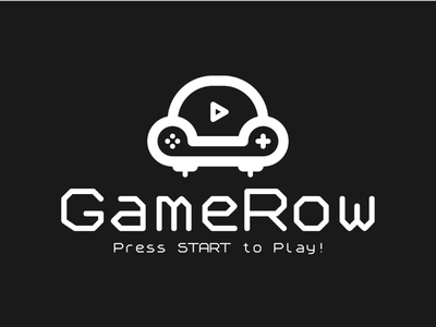 GameRow Concept 3 (B&W)