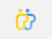 """""""PP"""" Logo Concept for a People Consulting Business"""