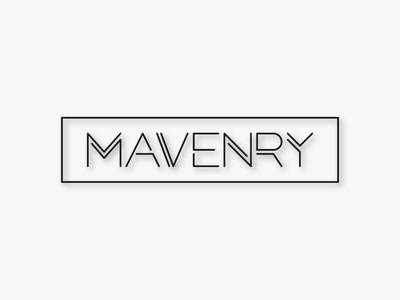 Mavenry Wordmark Concept