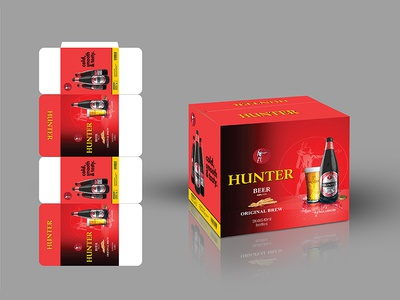 Hunter Beer Packaging