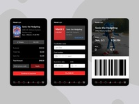 Daily UI #2- MovieKnight credit card