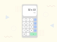 Daily UI #4- Retro Calculator