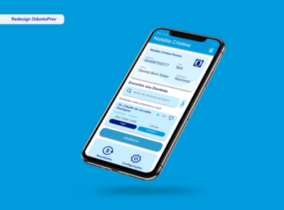 Redesign Odontoprev mobile app mobiledesign uidesign