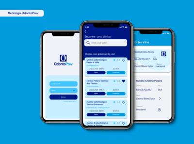 Redesign Odontoprev app dailyui mobile ui uiux ui  ux ui design figma userinterface design userinterface userinterfacedesign mobile app design mobile design uidesign mobile ui