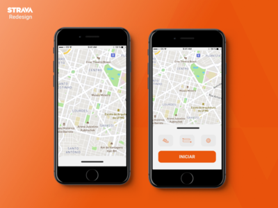 Strava Redesign dailyuichallenge figmadesign ui uidesign figma mobile ui design dailyui design