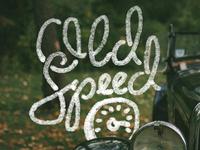 Old Speed Logo