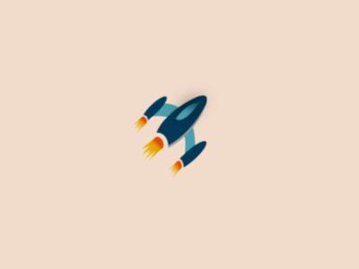 Rocketship Logo challenge - Day 1