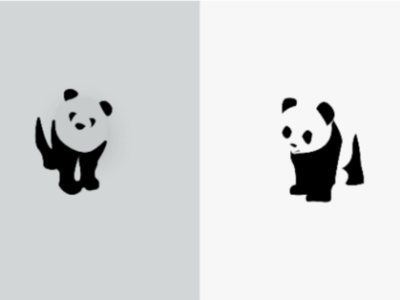 Panda Bear Logo Challenge - Day 3