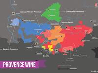 Provence Wine Region Map