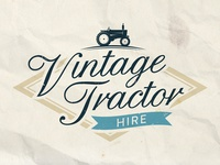 Vintage Tractor Final Logo