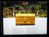 Web redesign in progress